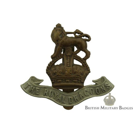 1st The Royal Dragoons Regiment Cap Badge