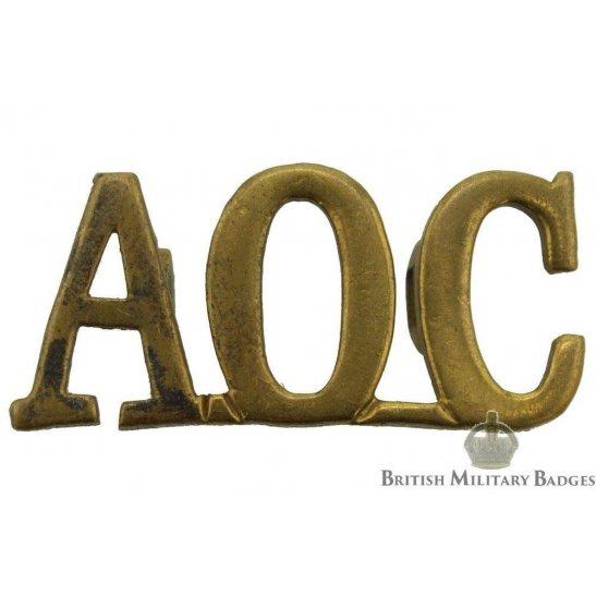 Army Ordnance Corps AOC Shoulder Title