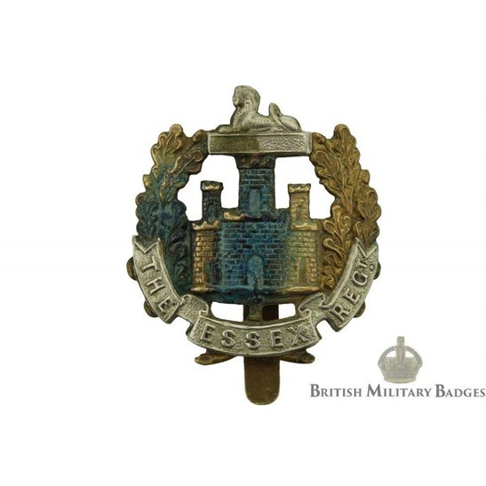 8th Territorial Battalion, Essex Regiment Cap Badge