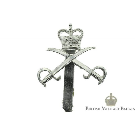 Royal Army Physical Training Corps RAPTC Staybrite Cap Badge