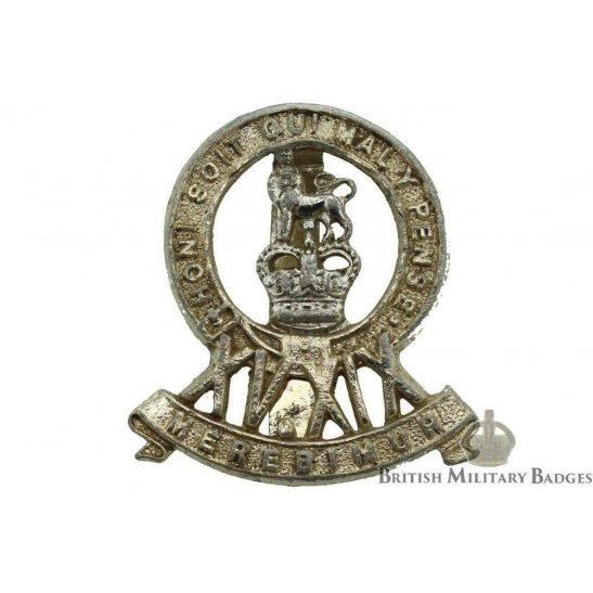15th / 19th Hussars Regiment Staybrite Cap Badge