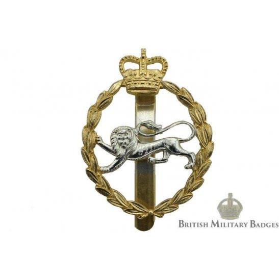 King S Own Royal Border Regiment Kings Staybrite Cap Badge