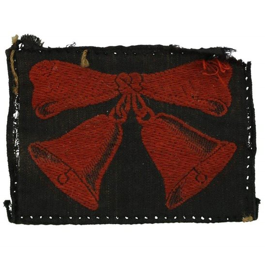 WW2 47th London Division Cloth Formation Sign Patch Badge