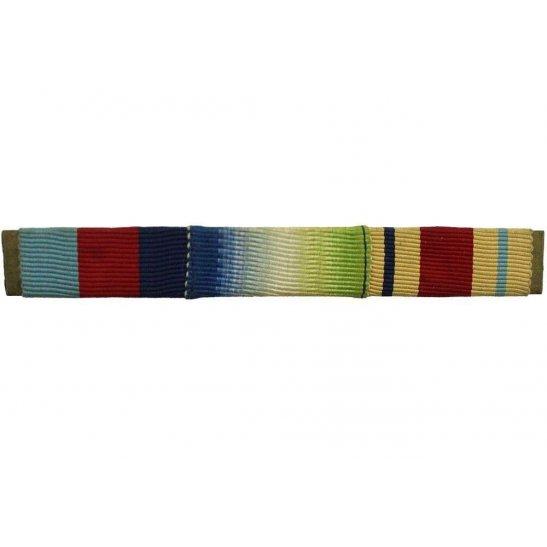 WW2 Medal Ribbon Bar - 1939-45 Star, Atlantic & Africa - PIN BACK
