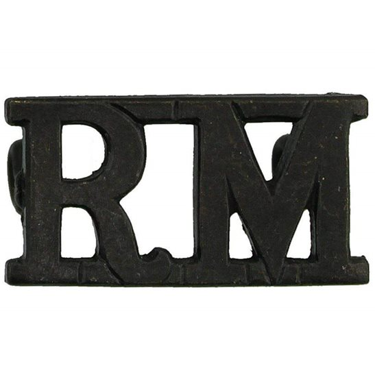Royal Marines WW2 Royal Marines Corps RM Shoulder Title
