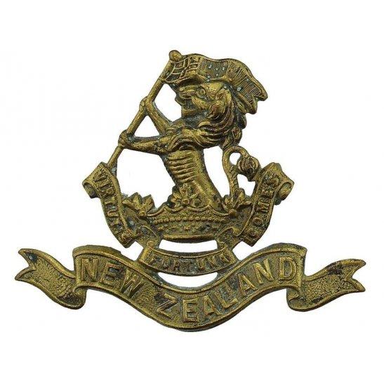WW1 - WW2 New Zealand Army 5th New Zealand Regiment Wellington Rifles Cap Badge