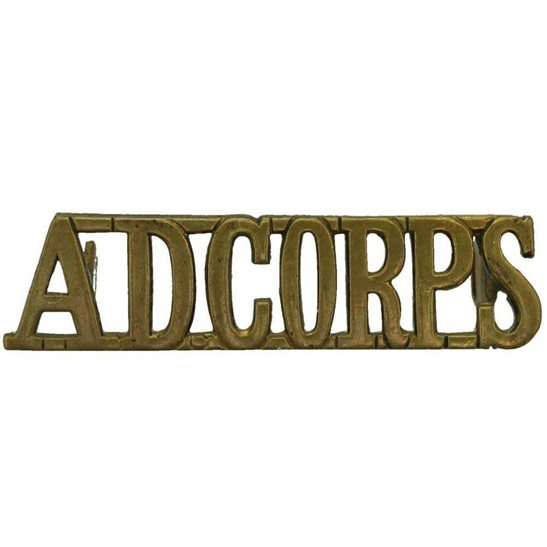 Army Dental Corps Royal Army Dental Corps RADC Dentist Shoulder Title (FIRST PATTERN)