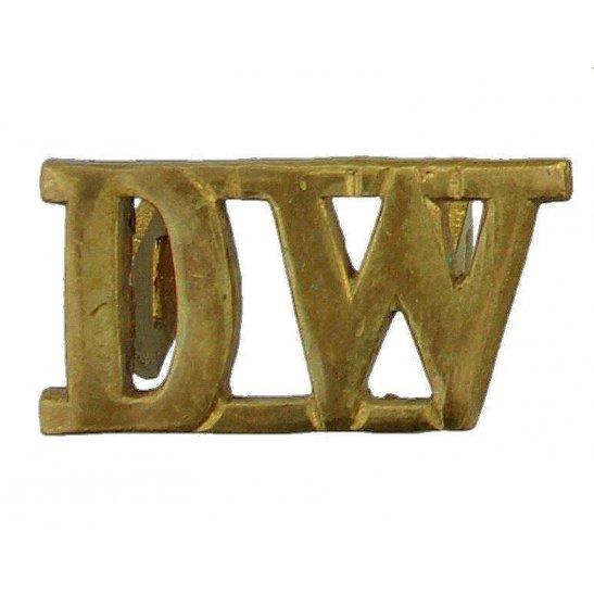 West Riding WW1 Duke of Wellingtons West Riding Regiment Shoulder Title