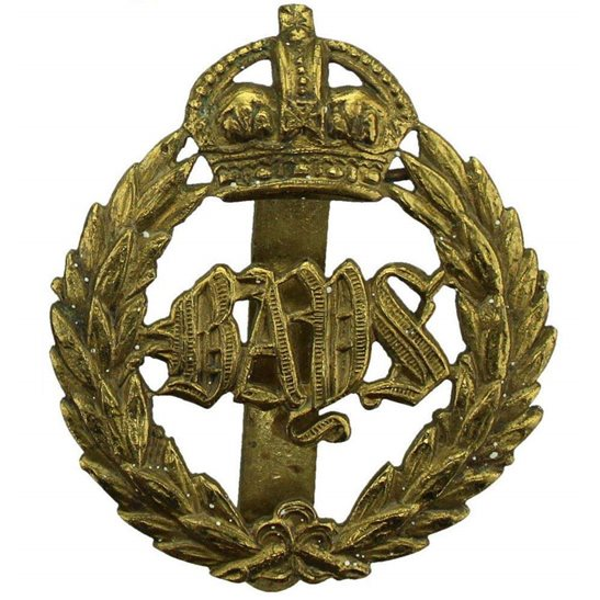2nd Dragoon Guards WW1 2nd Dragoon Guards (Queens Bays) Regiment Cap Badge