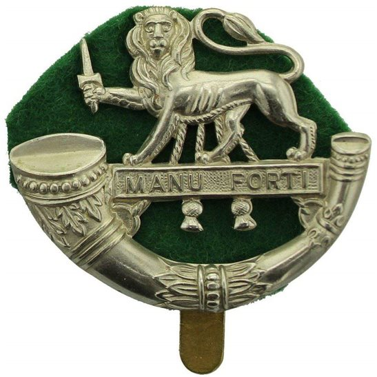 Herefordshire Light Infantry WW2 Herefordshire Light Infantry Regiment Hereford Cap Badge