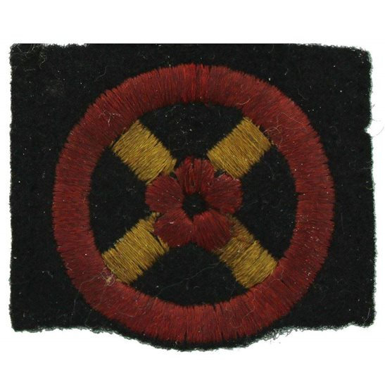 WW2 British Western Command Cloth Formation Sign Patch Badge