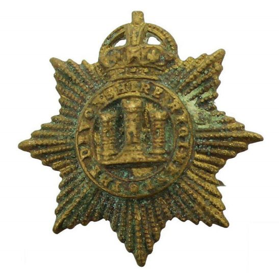 Devonshire Regiment Devonshire Regiment Collar Badge