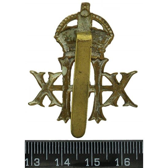 additional image for WW1 20th Hussars Regiment Cap Badge