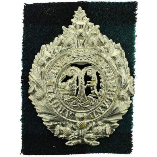 Argyll and Sutherland Highlanders WW2 Argyll and Sutherland Highlanders Regiment Cap Badge