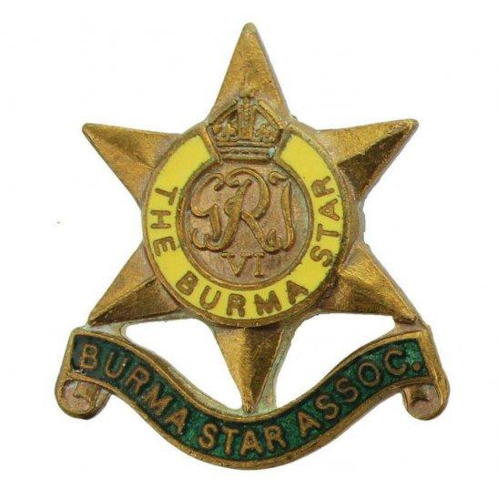 Burma Star Association Flag