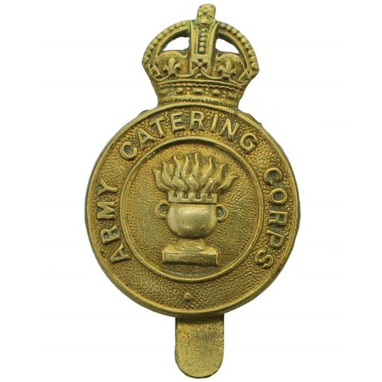 Army Catering Corps ACC WW2 Army Catering Corps ACC Cap Badge
