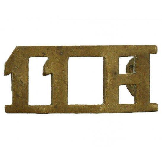 11th Hussars 11th Hussars Regiment Shoulder Title
