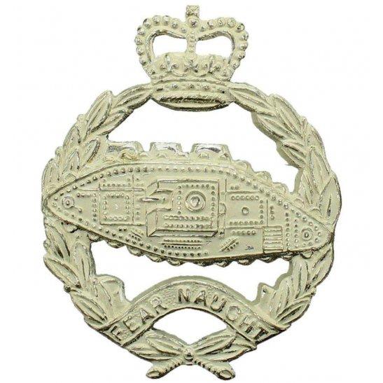 Royal Tank Regiment Royal Tank Regiment Cap Badge - Queens Crown