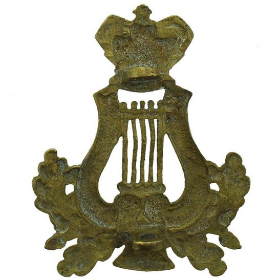 additional image for VICTORIAN Bandsman Proficiency in Music Musicians (Bandmaster) Arm Trade Badge