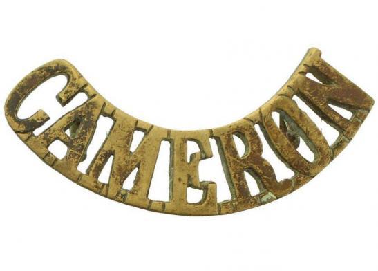 Image result for cameron highlanders shoulder title