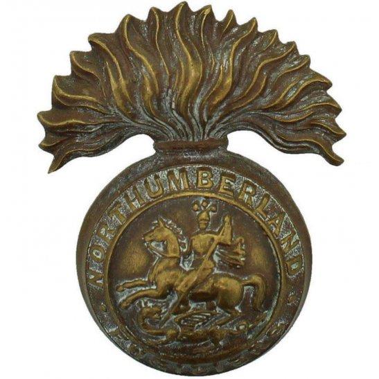 Northumberland Fusiliers Northumberland Fusiliers Regiment OFFICERS Bronze Collar Badge