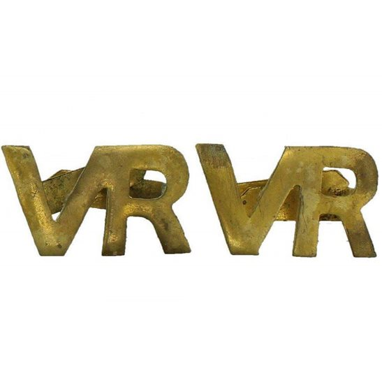 Royal Air Force RAF WW2 Royal Air Force RAF Volunteer Reserve VR Shoulder Title