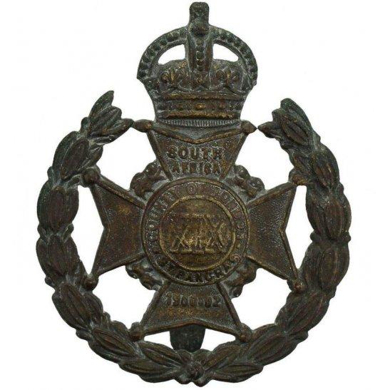 London Battalions WW1 19th (St Pancras) Battalion County of London Regiment Cap Badge