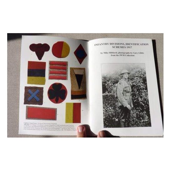 additional image for WW1 Infantry Division Cloth Badges Flashes Identification Schemes Reference Book