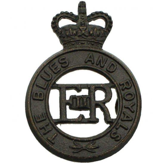 Blues and Royals Blues and Royals Regiment Cap Badge - Queens Crown