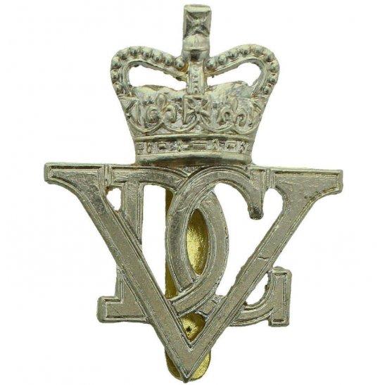 5th Dragoon Guards 5th Royal Inniskilling Dragoon Guards Irish Regiment Cap Badge - Queens Crown