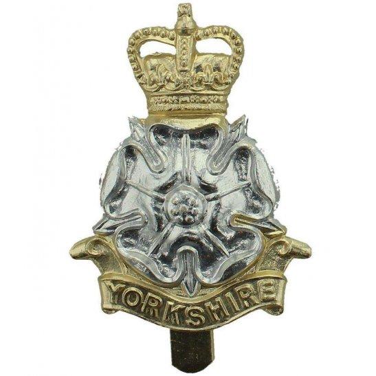 Yorkshire Regiment Yorkshire Regiment Staybrite Anodised Cap Badge - Staybright