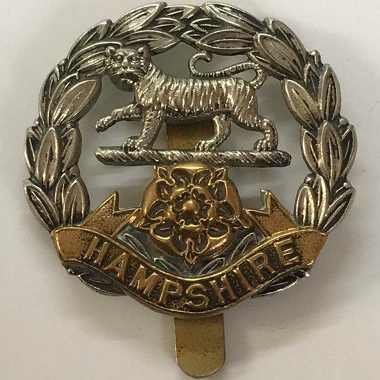 Hampshire Regiment WW2 Hampshire Regiment Cap Badge