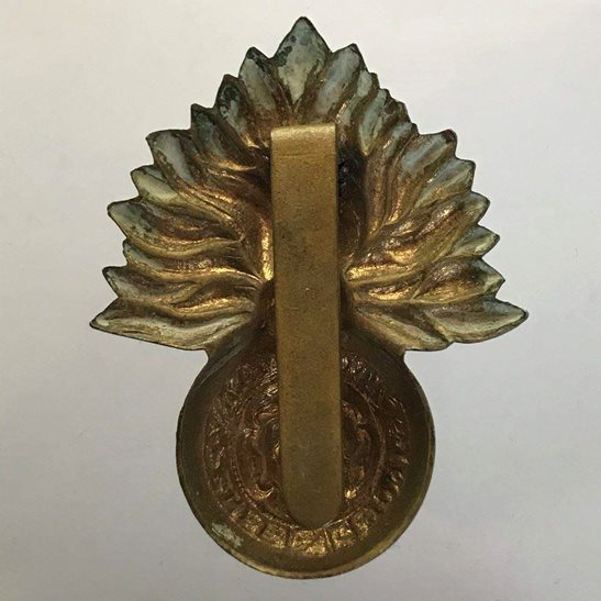 additional image for Royal City of London Fusiliers Regiment Cap Badge