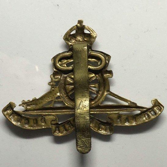 additional image for WW1 Royal Artillery Regiment Cap Badge STRENGTHENED SLIDER VERSION