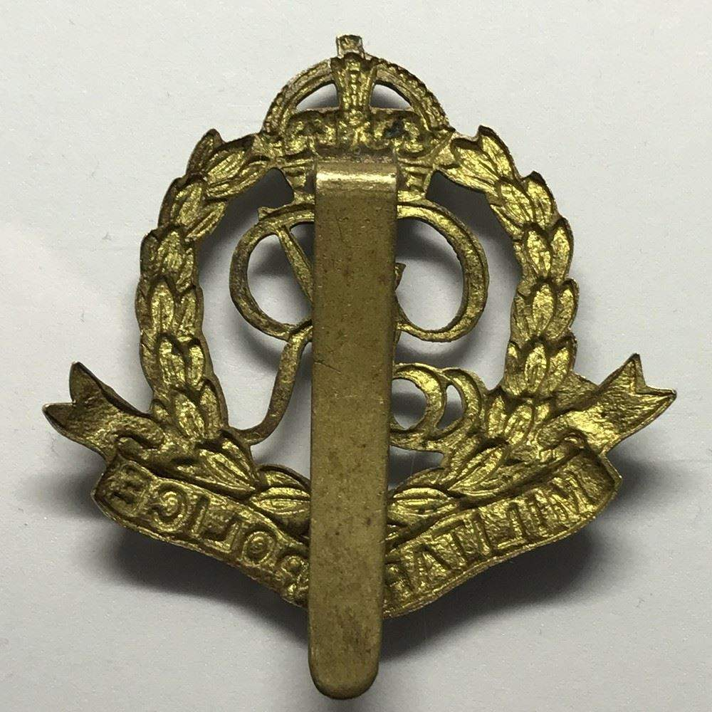 Collectable Badges British Army Royal Military Police Officers White