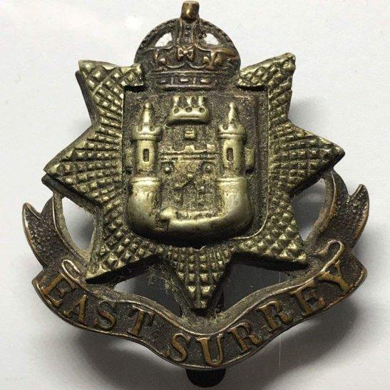 East Surrey East Surrey Regiment Cap Badge