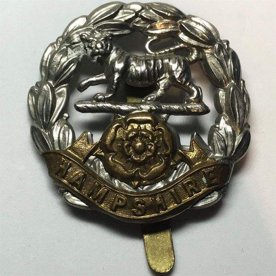 Hampshire Regiment WW1 Hampshire Regiment Cap Badge
