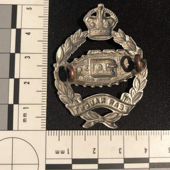 additional image for WW2 Royal Tank Regiment Cap Badge