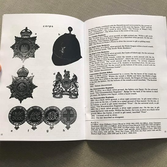 additional image for Home Service Helmet 1878 - 1914 Badge and Plate Guide Booklet / Book