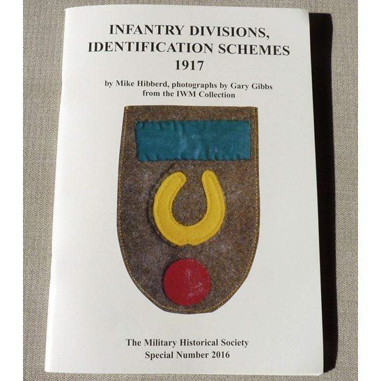 WW1 Infantry Division Cloth Badges Flashes Identification Schemes Reference Book