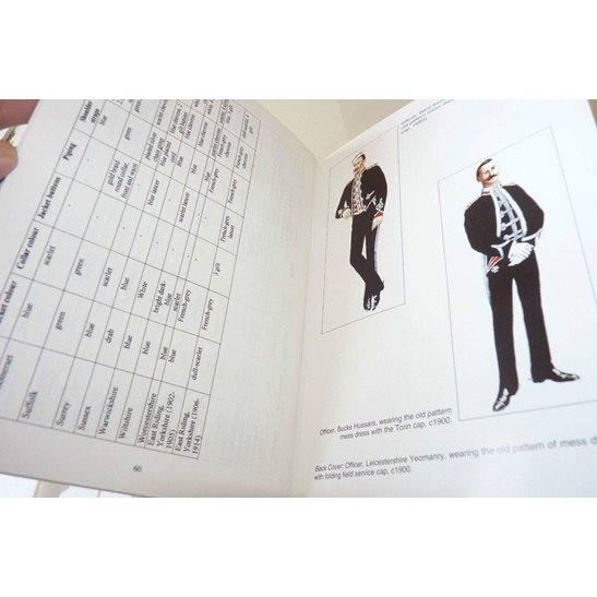 additional image for Mess Dress Uniforms of the Yeomanry Cavalry 1880-1914 Reference Guide Book