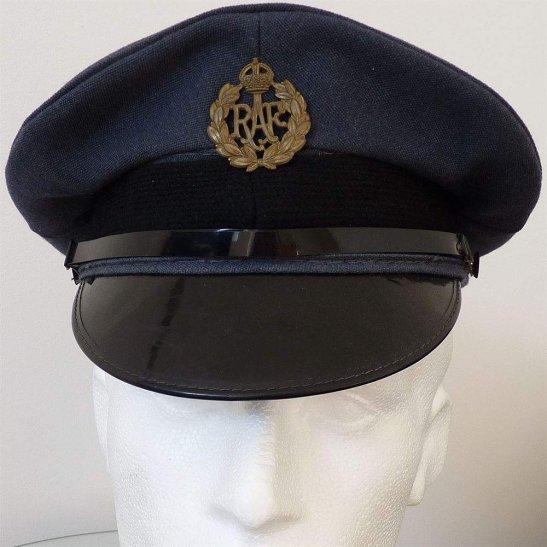 Royal Air Force RAF Kings Crown Royal Air Force RAF Cap Badge & Hat