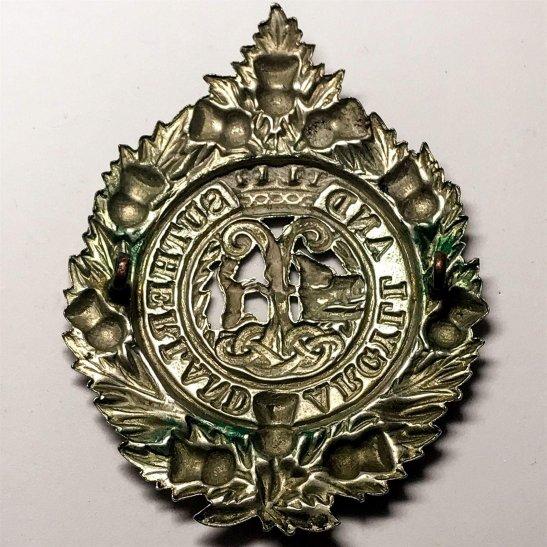 additional image for WW1 Argyll and Sutherland Highlanders Regiment Cap Badge