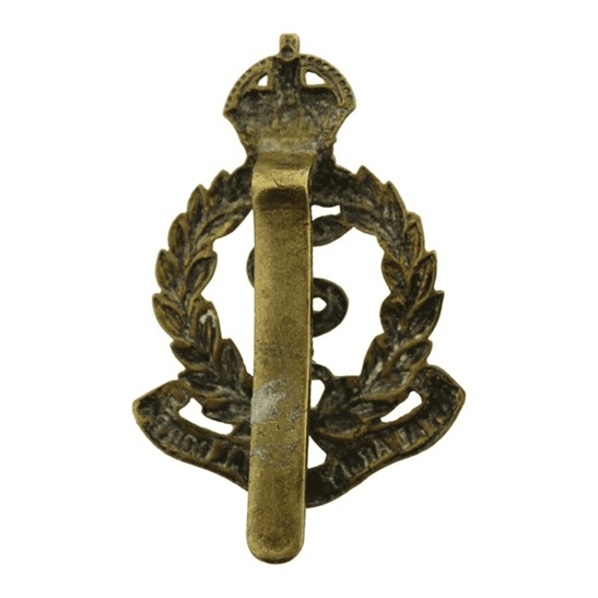 additional image for WW1 Royal Army Medical Corps RAMC Cap Badge