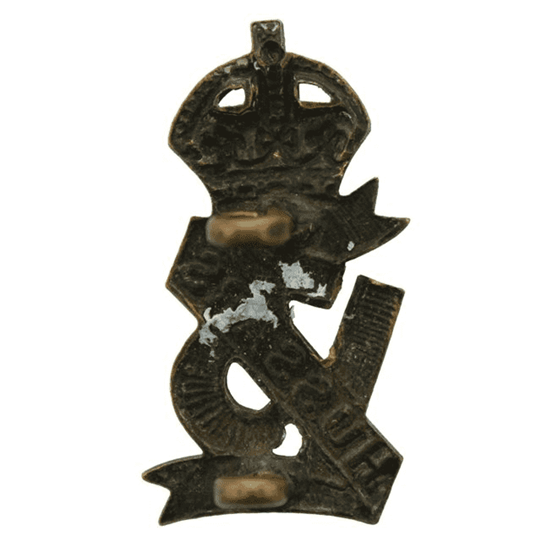 additional image for WW1 13th Hussars Regiment Cap Badge