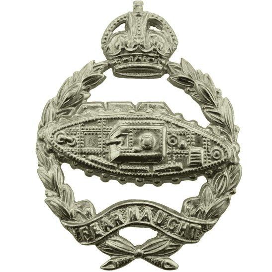 Royal Tank Regiment WW2 Royal Tank Regiment Cap Badge