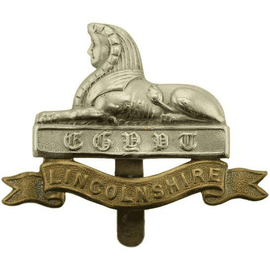Lincolnshire Regiment WW1 Lincolnshire Regiment Cap Badge