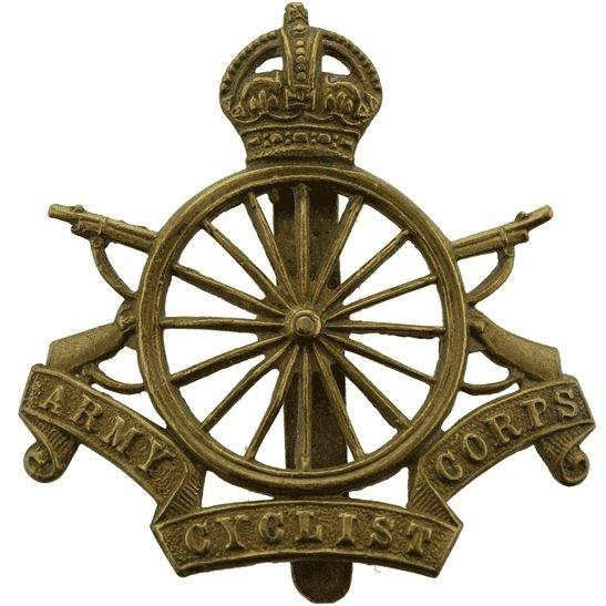 Army Cyclist Corps WW1 Army Cyclist Corps (Cyclists) Cap Badge