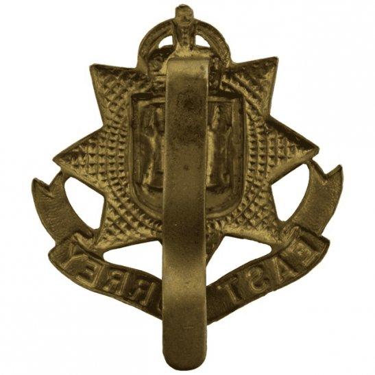 additional image for WW1 East Surrey Regiment Cap Badge