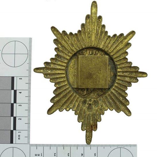 additional image for WW1 Coldstream Guards Regiment Valise Cross Belt Plate / Pouch Badge